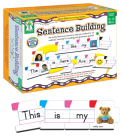 Sentence Building: An Early Literacy Resource That Provides for an Endless Variety of Reading and Grammar Games! Cover Image