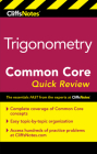 CliffsNotes Trigonometry Common Core Quick Review Cover Image