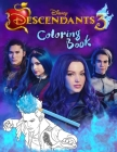 Descendants 3 Coloring Book: Descendants Jumbo 3 Coloring Book With Unofficial Premium Images for Kids and Adults Cover Image