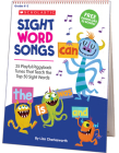 Sight Word Songs Flip Chart: 25 Playful Piggyback Tunes That Teach the Top 50 Sight Words Cover Image