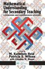 Mathematical Understanding for Secondary Teaching: A Framework and Classroom-Based Situations Cover Image