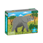 African Elephant Mini Puzzle Cover Image