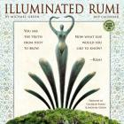 Illuminated Rumi 2019 Wall Calendar: By Michael Green Cover Image