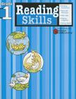 Reading Skills: Grade 1 (Flash Kids Harcourt Family Learning) Cover Image