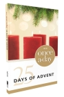 Niv, Once-A-Day 25 Days of Advent Devotional, Paperback Cover Image