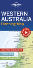 Lonely Planet Western Australia Planning Map (Planning Maps) Cover Image