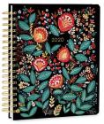 2020 High Note Dinara's Wildflowers in Gold 18-Month Weekly Deluxe Hardcover Planner Cover Image