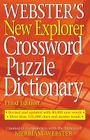 Webster's New Explorer Crossword Puzzle Dictionary Cover Image