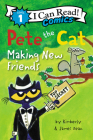 Pete the Cat: Making New Friends (I Can Read Comics Level 1) Cover Image