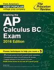Cracking the AP Calculus BC Exam Cover Image
