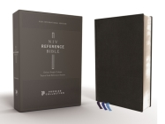 Niv, Reference Bible, Deluxe Single-Column, Premium Leather, Goatskin, Black, Premier Collection, Comfort Print Cover Image