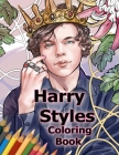 Harry Styles Coloring Book: Coloring Books for All Fans of Harry Styles with Easy, Fun, BEAUTIFUL and Relaxing Design! 8.5 in by 11 in Size, Hand- Cover Image