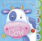 Counting with Cow: A First Tabbed Lift-The-Flap Book Cover Image