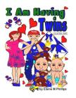 I Am Having Twins Colouring Book Cover Image