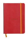 Rhodiarama Lined 4 X 5 1/2 Poppy Red Softcover Journal Cover Image