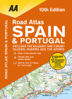 Road Atlas Spain & Portugal Cover Image