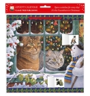 Lesley Anne Ivory – Snowy Christmas: Megatab, Mintaka and the Snowman Advent Calendar 2021 (with stickers) Cover Image