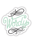 Wordy (Sticker) Cover Image