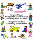 English-Slovak Bilingual Children's Picture Dictionary Book of Colors Cover Image