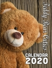 Teddy Bear Cuties Calendar 2020: 14-Month Desk Calendar Showing the Cutest of Teddy Bears in All Situations! Cover Image