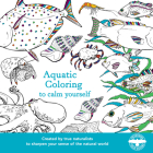 Aquatic Coloring to Calm Yourself Cover Image