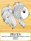 Libro de colorear para marcadores y lápices - Mandala - Animales - Peces Cover Image