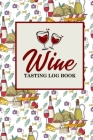 Wine Tasting Log Book Cover Image