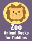 Zoo Animal Books For Toddlers: A Funny Coloring Pages, Christmas Book for Animal Lovers for Kids Cover Image