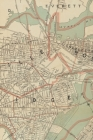 Cambridge / Somerville Vintage Map Field Journal Notebook, 50 pages/25 sheets, 4x6 Cover Image