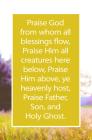 Praise God Bulletin (Pkg 100) General Worship Cover Image