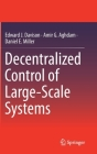 Decentralized Control of Large-Scale Systems Cover Image