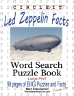 Circle It, Led Zeppelin Facts, Word Search, Puzzle Book Cover Image
