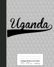 College Ruled Line Paper: UGANDA Notebook Cover Image