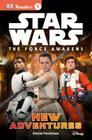 DK Readers L1: Star Wars: The Force Awakens: New Adventures (DK Readers Level 1) Cover Image
