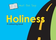 What God Says: Holiness (Bible Art) Cover Image