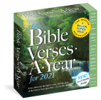 365 Bible Verses-A-Year Page-A-Day Calendar 2021 Cover Image