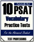 10 Fantastically Hard PSAT Vocabulary Practice Tests Cover Image