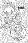 NTV La Gran Historia: Biblia Interactiva, blanco en tela para colorear (The Gospel Project) Cover Image