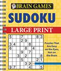 Brain Games Sudoku Large Print Cover Image