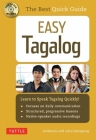 Easy Tagalog: Learn to Speak Tagalog Quickly (CD-ROM Included) Cover Image