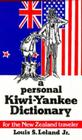 A Personal Kiwi-Yankee Dictionary Cover Image