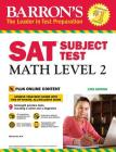 Barron's SAT Subject Test: Math Level 2 with Online Tests (Barron's Test Prep) Cover Image