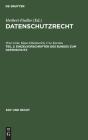 Einzelvorschriften Des Bundes Zum Datenschutz Cover Image
