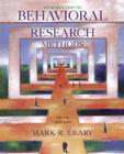 Introduction to Behavioral Research Methods Cover Image
