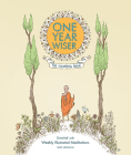 One Year Wiser: The Coloring Book: Unwind with Weekly Illustrated Meditations Cover Image