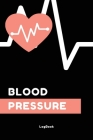 Blood Pressure Log Book: Medical Monitoring Health Diary Tracker for Weight, Medications, Blood Pressure, and Blood Sugar Cover Image
