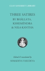 Three Satires (Clay Sanskrit Library #54) Cover Image