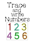 Trace and Write Numbers: Simple math for Toddlers - Number Tracing Book For Preschoolers Kids Learning to Write Cover Image
