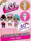 Lol Surprise Coloring Book: Amazing Coloring Book with 60 Unique Images Cover Image