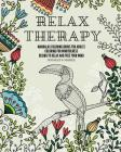 Relax therapy: mandalas coloring books for adults coloring for mindfulness design to relax and free your mind. Cover Image